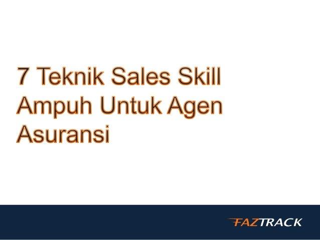  Setiap agen asuransi pasti ingin meningkatkan penjualannya. Premi yang tinggi dan bisa merekrut lebih banyak agen agar b...