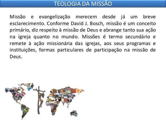 7 teologia da missão Slide 3