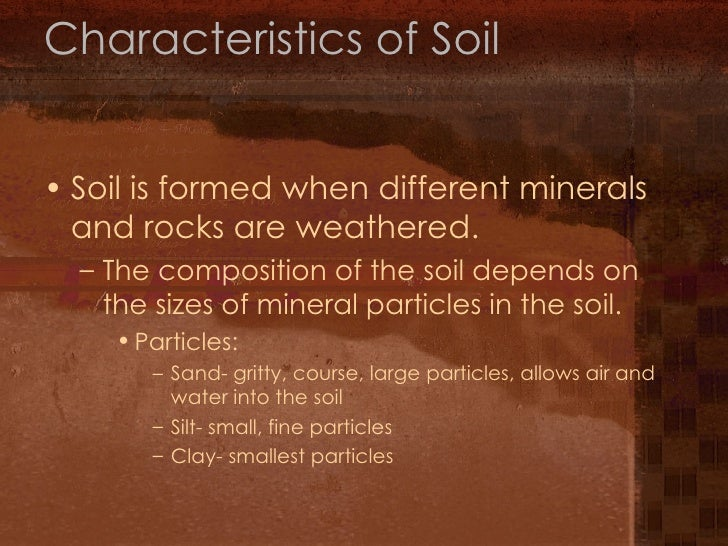 7th grade chapter 1 lesson 3 for Soil 7th class