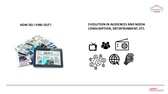HOW DO I FIND OUT? EVOLUTION IN AUDIENCES AND MEDIA CONSUMPTION, ENTERTAINMENT, ETC.