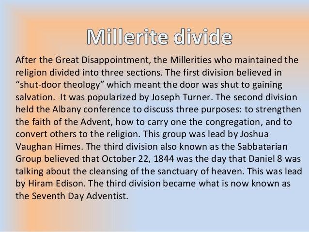 millerite movement