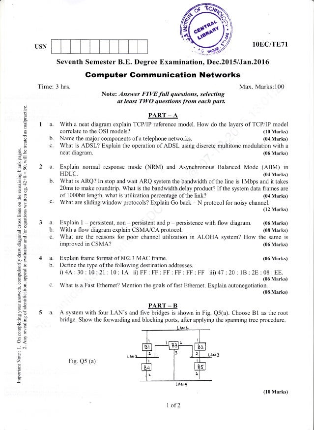 7th Semester Electronics And Communication Engineering