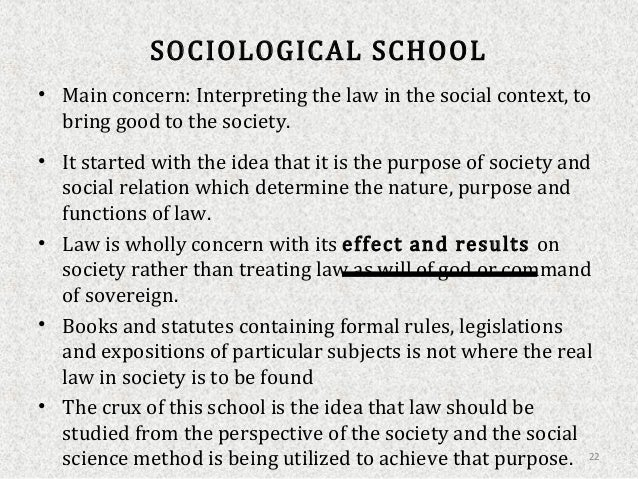 sociological school