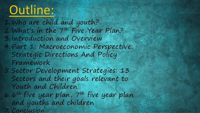National Youth Policy Overview