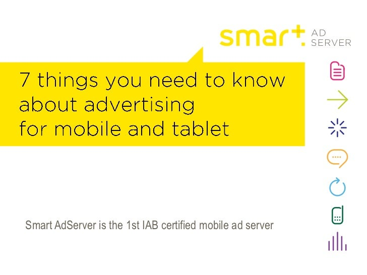 Smart AdServer is the 1st IAB certified mobile ad server