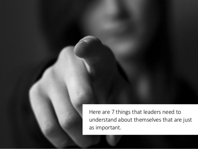 7 Things About Leadership That Most People Don't Know Slide 3