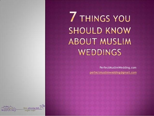 PerfectMuslimWedding.com perfectmuslimwedding@gmail.com