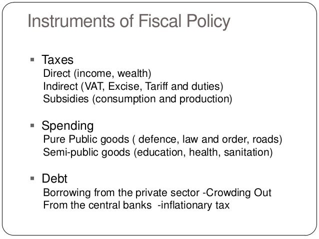an analysis of fiscal policy Answer to present a thorough analysis of fiscal policy detail the effects of  discretionary fiscal policies, the various policy l.