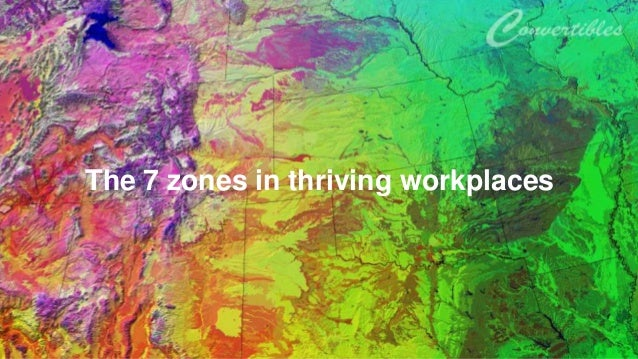 The 7 zones in thriving workplaces