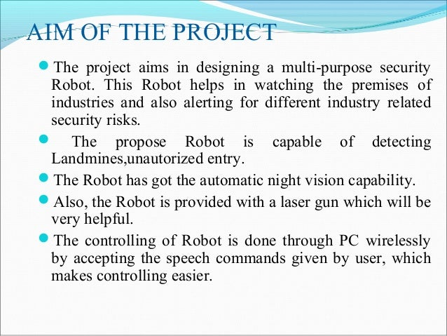 robots in military applications Arms: autonomous robots for military systems a survey of  collaborative robotics core technologies and their military applications.