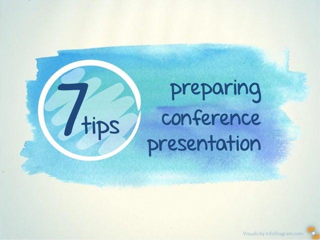Visuals by infoDiagram.com preparing conference presentation 7tips