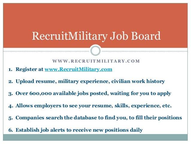 7 tips for military veterans to get a job through a career fair