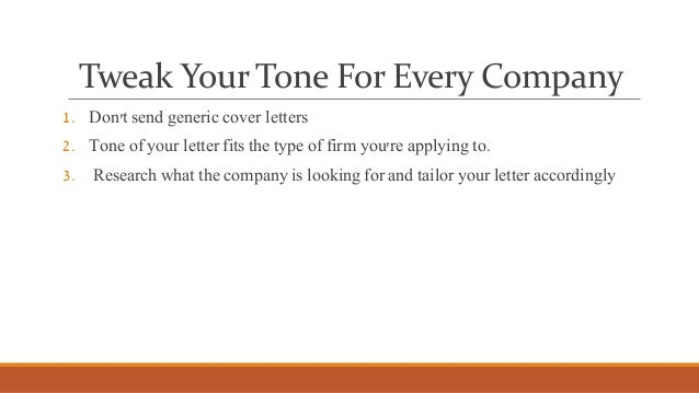 Tips For Perfect Cover Letter