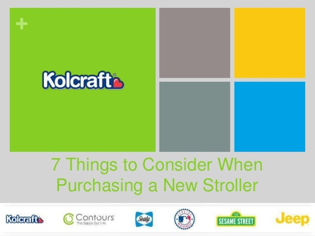 + 7 Things to Consider When Purchasing a New Stroller