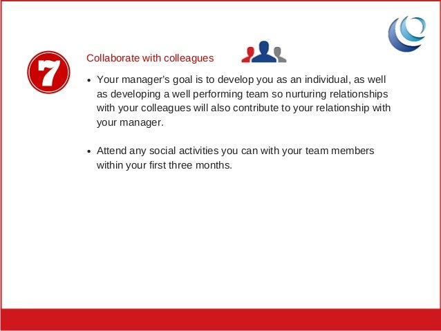 9. Collaborate With Colleagues Your Manageru0027s ...