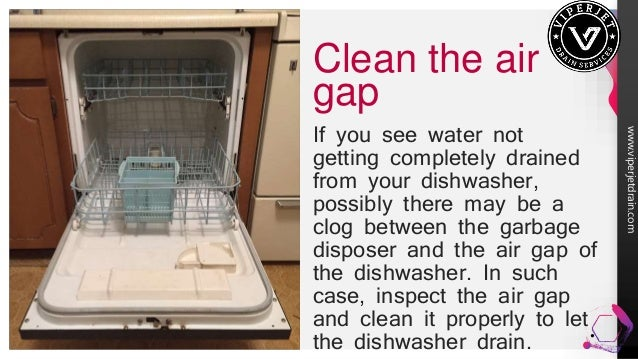 7 Tips To Fix A Dishwasher That S Not Draining