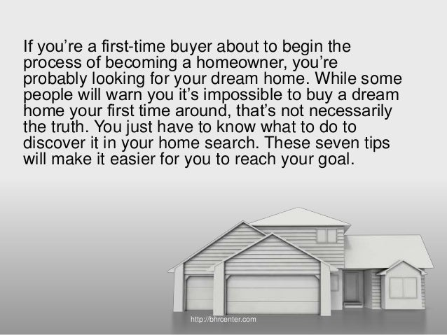 Finding Your Dream Home 7 tips to help you find your dream home
