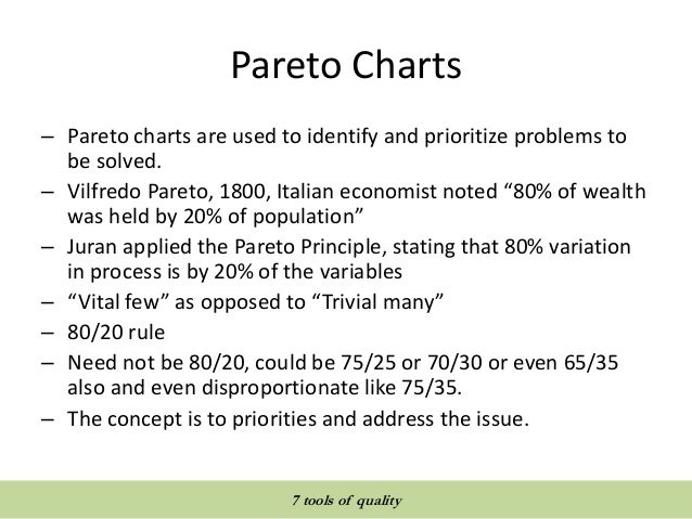Quality tools and techniques 7 tools of quality pareto ccuart Choice Image