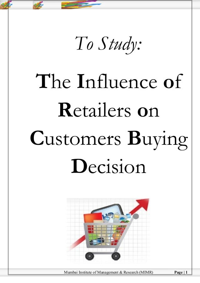 studying the consumer buying behaviour for laptop Consumer buying behavior consumer decision processes are the decision making processes undertaken by consumers in regard to a potential market transaction before, during, and after the purchase of a product or service.