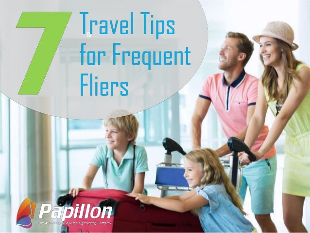Accounting for frequent fliers 1
