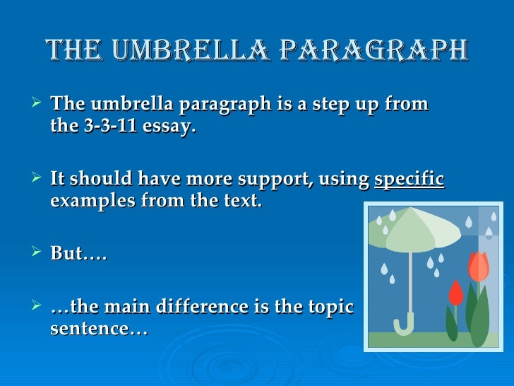 essays on autobiography of an umbrella Essays exploring the boundaries from the editor from the magazine life online online only required reading then & now under the umbrella writer at work.
