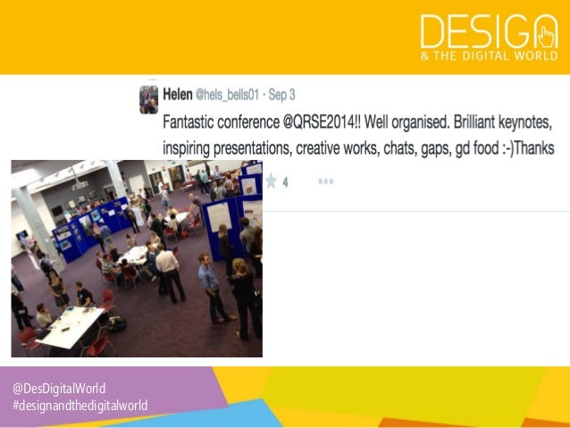 6. Twitter at Conferences: Tips for Organisers and Delegates Slide 3