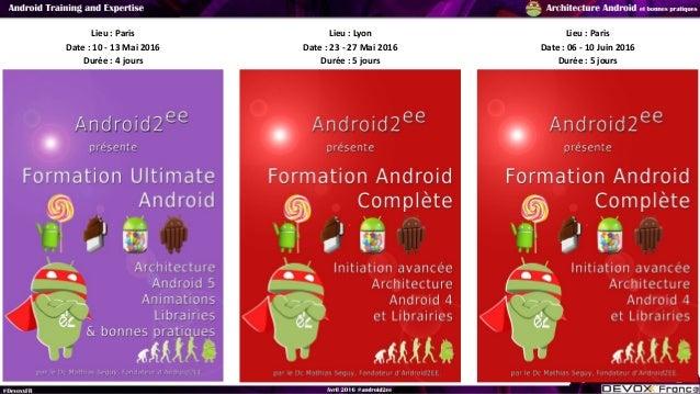 Architecture et Bonnes pratiques Android #DevoxxFr2016 Part1 Slide 3