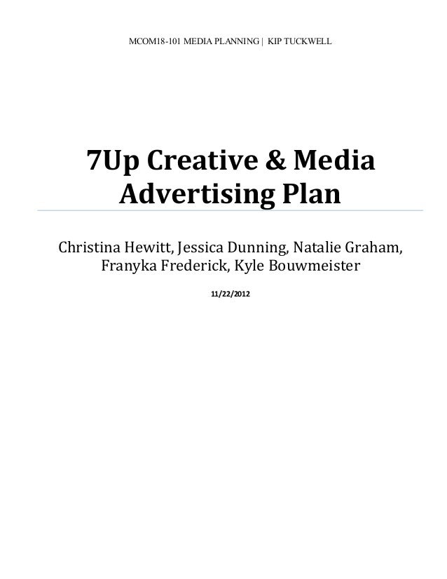 marketing plan of 7up The marketing mix is a standard strategic tool used to formulate a plan for product development and promotions examining the mix for a successful company like coca.