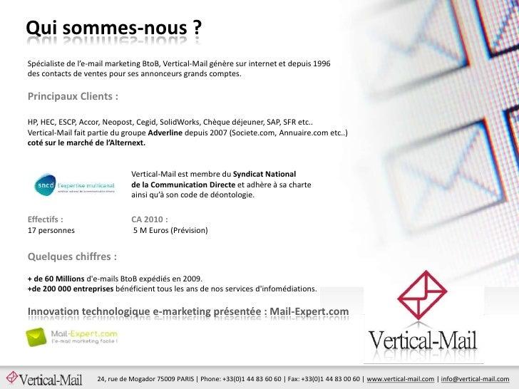 Presentation Mail-Expert.com