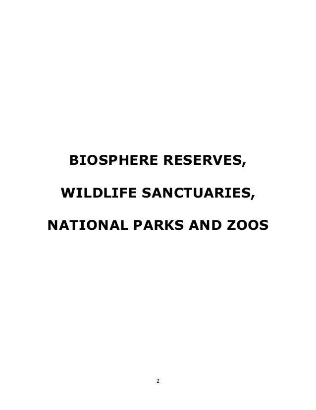 difference between national park and wildlife sanctuary