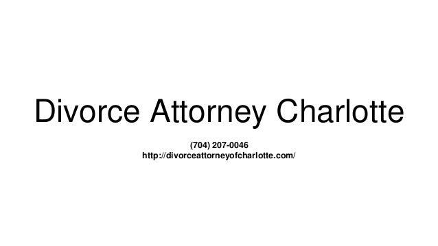 Divorce Attorney Charlotte (704) 207-0046 http://divorceattorneyofcharlotte.com/