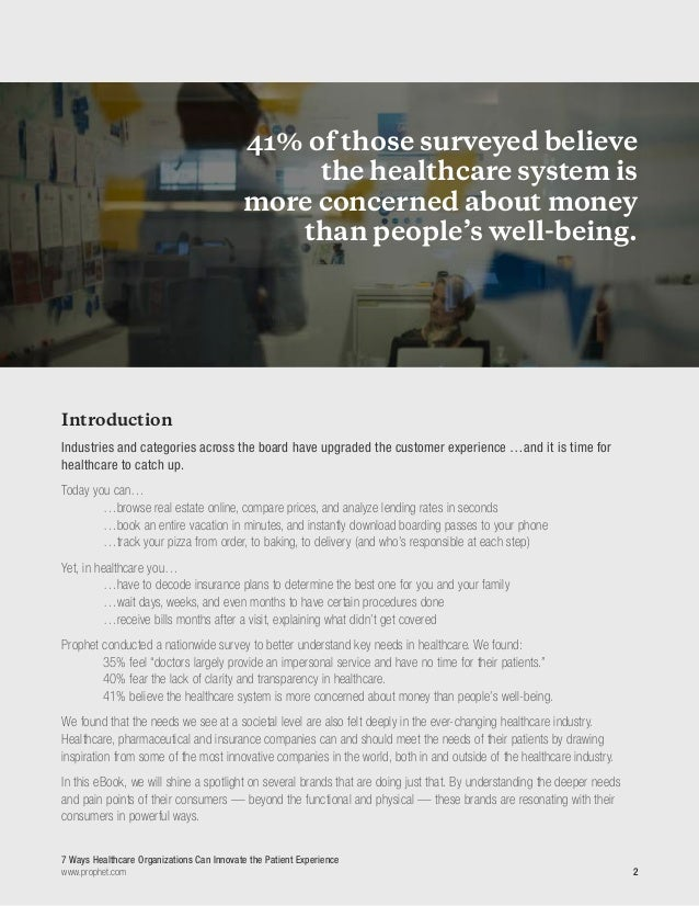 eBook: 7 Ways Healthcare Organizations Can Innovate the Patient Experience Slide 3