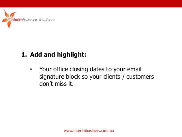 Business Closure Notice Sample – Frases e mensagens