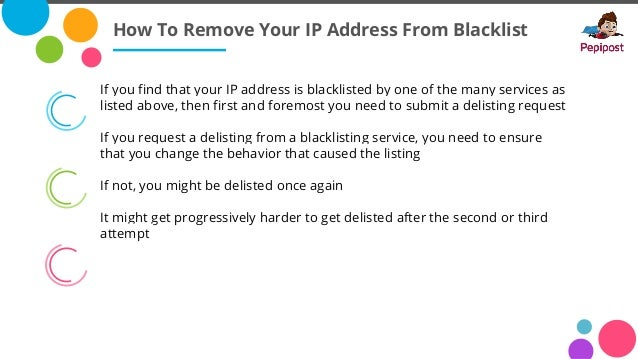 7 WaysTo Check If Your IP Is Blacklisted | Pepipost
