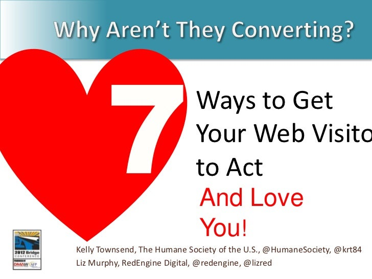 Ways to Get                             Your Web Visito                             to Act                              An...