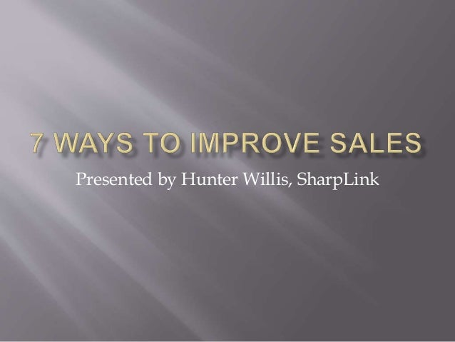 Presented by Hunter Willis, SharpLink