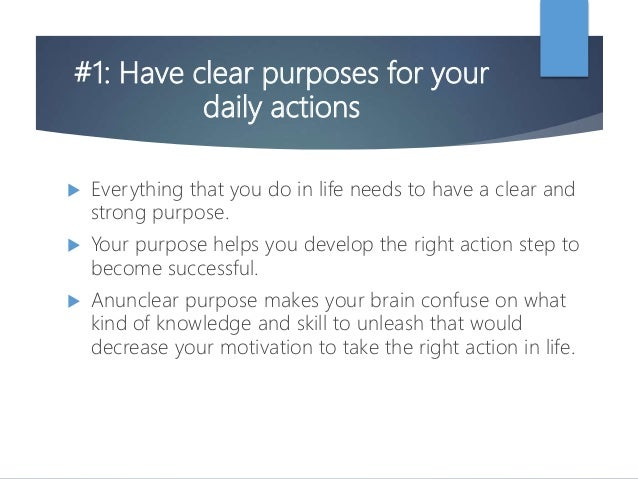7 ways to motivate yourself in life Slide 3
