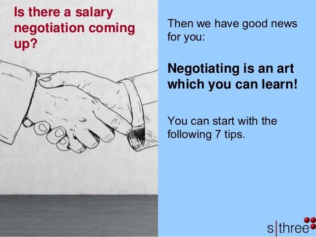 7 ways to successfully negotiate salary Slide 2