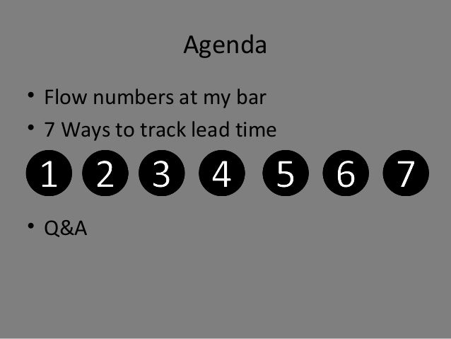 7 Ways To Track Lead-Time Slide 2