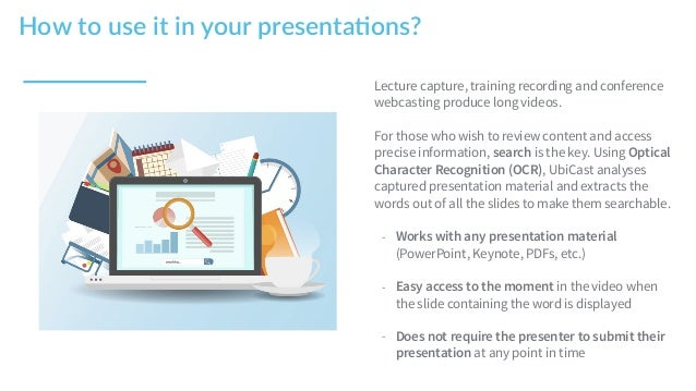 Lecture capture, training recording and conference webcasting produce long videos. For those who wish to review content an...