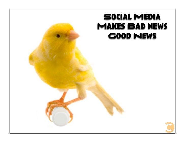 Social Media Makes Bad news   Good News
