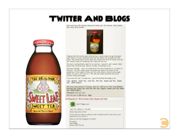 Twitter And Blogs