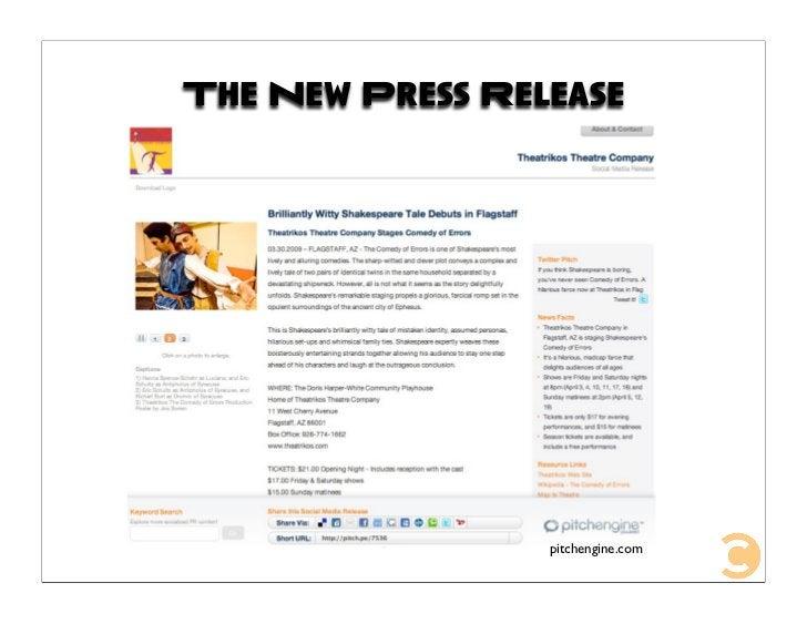 The New Press Release                      pitchengine.com