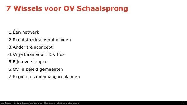 Schaalsprong Voor Het Ov In De Metropoolregio Amsterdam