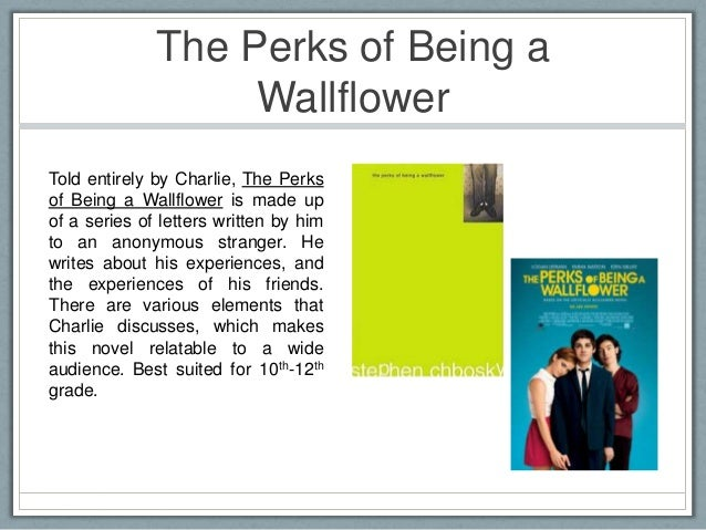 the theme of the perks of In the perks of being a wallflower, we see charlie change from scared child to ( somewhat) adjusted teenager this lesson will focus on the setting.