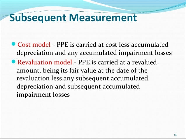 cost model vs revaluation model pdf