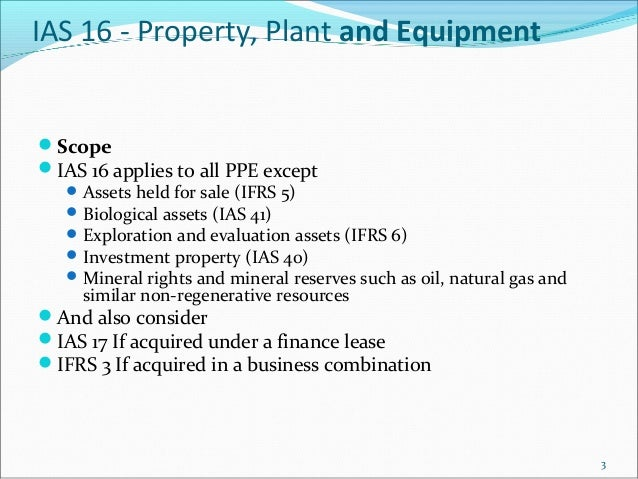 Ifrs impact on reserves in oil