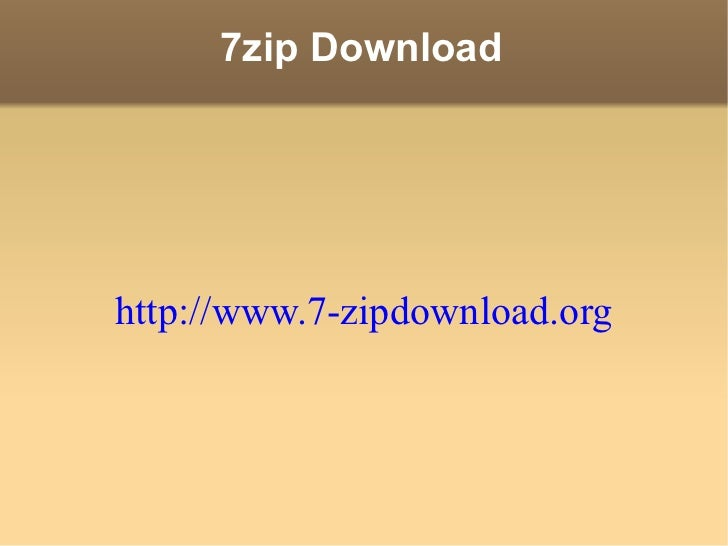 Free Download 7zip