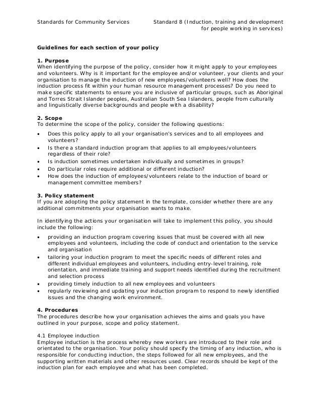 8.1 employee-and-volunteer-induction-policy-guideline