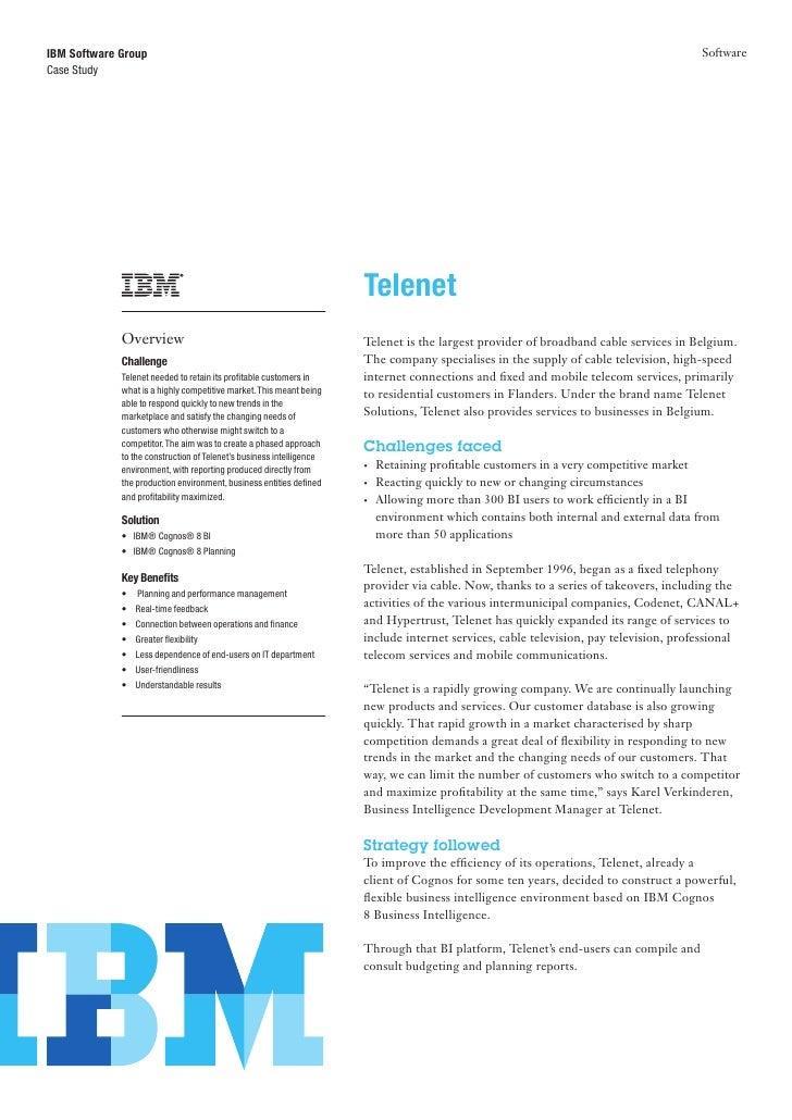 IBM Software Group                                                                                                        ...